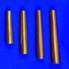 """100 BRASS Cones Metal 3/4""""  1""""  1 1/4"""" Pow Wow  Craft Jewelry Supplies Regalia"""