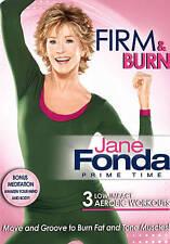 Jane Fonda: Prime Time - Firm  Burn (DVD, 2011, Canadian)