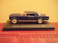 VOITURE FACEL VEGA EXCELLENCE  1960 1/43EME NEUF EN BOITE
