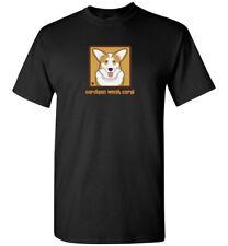 Cardigan Welsh Corgi Cartoon T-Shirt - Men Women Youth Tank, Short Long Sleeve