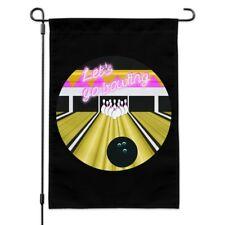 Bowling Alley Ball Pins Garden Yard Flag