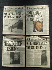 ' Evening Standard ' Original Newspaper from  1990's/2000's - Your Birthday ?