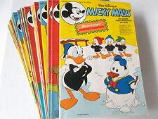 AUSWAHL = Micky Maus Comic Hefte 1978 Nr. 1 - 52 mit / ohne Beilagen