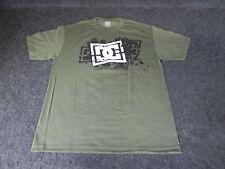 Hombre DC Moda Informal skate bmx mx camiseta S a XL XXL verde {DC79}