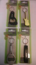 Munkees Schlüsselanhänger Flaschenöffner Tennisschläger Fuß Gitarre