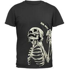 Skeleton Barber Adult Mens T-Shirt