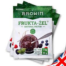 Edible Gelatin for Jam, Natural Premium Fruit Pectin (30g) For 1kg of Fruit
