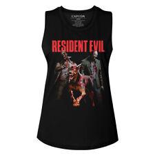 Resident Evil Video Game Monster Hits Women's Muscle Tank Shirt