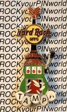 Hard Rock Cafe TAMPA 2010 Slot Machine Guitar PIN Cherries! - New in HRC Baggy!