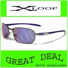 Men's Aviator X Loop Sunglasses XL13706 UV400 Davis A1 blue shades sunnies