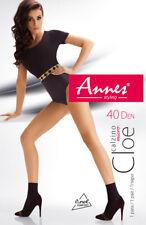 ANNES Cloe Luxury 40 Denier Super Soft Sheer Socks - Pack of 2