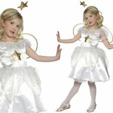 joli blanc filles Fée Ange Déguisement ECOLE Nativité Jeu SMIFFYS 35949