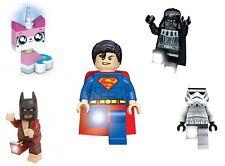 Lego Enfants Lampes Super Héros Batman Superman LED Lampe de Poche Ledlite