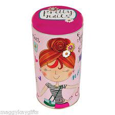 Pretty Nails - Lipstick Stackable Tin Polish Girls Storage Make-up Rachel Ellen