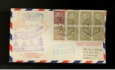 1937 Macau First Flight Cover Ffc to San Francisco