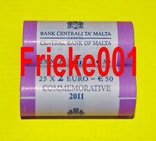 Malta - 2 euro comm rol 2011.(25 munten)