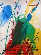 JENKINS Paul Affiche Originale Lithographie Mourlot Art Abstrait New-York