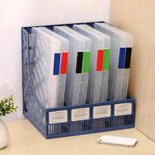 A4 Ordner verschließbar Aktenmappe Aufbewahrungsbox Plastik Halterung Papier