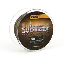 Fox Submerge Sinking Braided Mainline / Dark Camo Braid