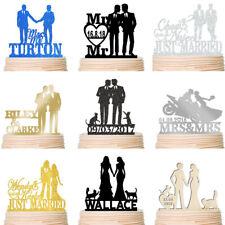 Same Sex Wedding Cake Topper Mr Mr Gay Silhouette Lesbian Mrs Mrs Custom Decor
