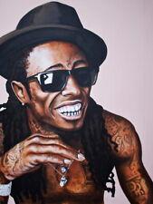 Lil Wayne Painting Art Hip Hop Rapper Music Huge Giant Print POSTER Affiche