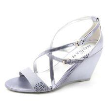B4130 sandali donna HOGAN H227 scarpa zeppa viola chiaro sandal shoe woman