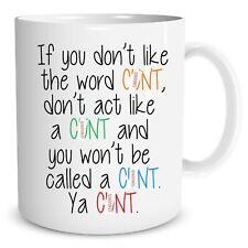 Funny Novelty Mug Rude Explicit Adult Humour Printed Cups Joke Gifts WSDMUG647