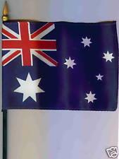 "Commonwealth of Australia 4""x6"" Flag on a Pole NEW"