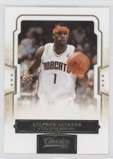 2009-10 Panini Classics #70 Stephen Jackson Charlotte Bobcats Basketball Card
