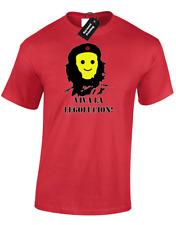 VIVA LA LEGOLUCION MENS T-SHIRT FUNNY CHE GUEVARA REVOLUTION COMMUNIST (COL)