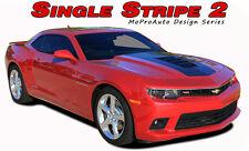 Single Stripe 2014-2015 Chevy Camaro Hood Racing Stripes Decal 3M Vinyl Graphic
