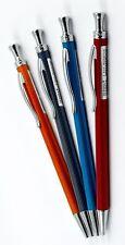 OUFEIYA STEEL MECHANICAL PENCIL 0.5 mm 4 BARREL COLOUR RED, ORANGE, GREY, BLUE