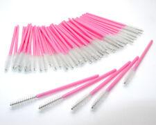 Eyelash Mascara Disposable Wands Lash Brushes Spoolers Extension Pink White