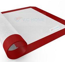 SlipatVchome No-Stick Silicone Fibreglass Baking Mat  Oven Dough Rollin Cake Mat