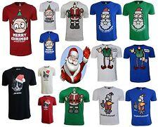Nueva camiseta para hombre De Navidad Novedad Top Xplicit Santa raindeer Elfo Tamaños S-3XL