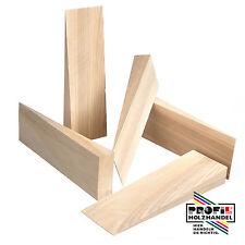 50 Holzkeile Hartholz Buche/Esche/Eiche 100x15x6mm neu