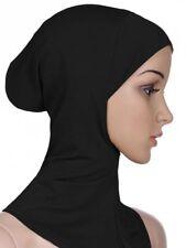 Le donne Sotto Sciarpa Ossa Berretto Bonnet NINJA Hijab Islamico Collo copertura musulmani Shiny