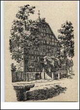 KORBACH Gasthaus Zur Waage nach Federzeichnung Janisch