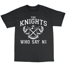 Los caballeros que dicen ni Camiseta 100% algodón Monty Python y el Santo Grial