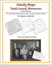 Family Maps Todd County Minnesota Genealogy MN Plat