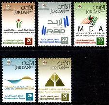 Jordan 2039-2043, MNH, 2010 Development Zones  x10347