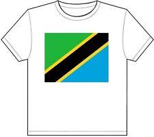 TANZANIA COUNTRY FLAG T-SHIRT TEE PICTURE PHOTO dodoma dar es salaam tz 1810