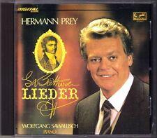 Hermann PREY & SAWALLISCH: BEETHOVEN Lieder Adelaide Neue Liebe, neues Leben CD