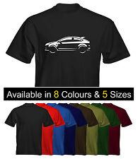 *NEW* Mens Premium T-Shirt Ford Focus Mk2 RS ST170 Size & Colour Options