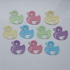 Lindo Pato dado corta-conjuntos de 10 en varios estilos. bebé, elaboración de Tarjetas Etc.