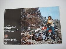 advertising Pubblicità 1977 MOTO GARELLI KL 50 E. CROSS 5V