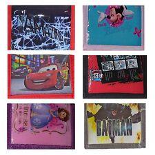 per Bambini Disney/PERSONAGGI Portafogli Portamonete - 6 Designs