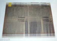 Microfich Ersatzteilkatalog Toyota Corolla Sedan / Wagon /Liftback Stand 03/1991