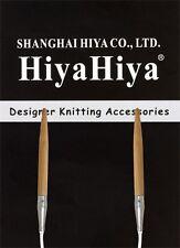 """HiyaHiya 9"""" Bamboo Circular Knitting Needles"""