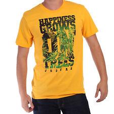 Happeness Grows On Trees Cooyah Rasta T Shirt Rastafari  100% Cotton Jamaica CY